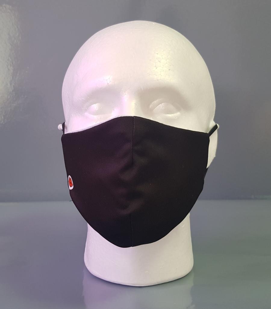 Mascarilla básica de color negro